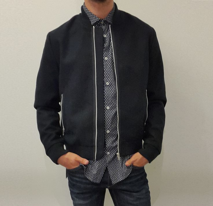 Townsfolk Bailleul - Blouson Bomber homme Core by Jack and Jones  chez Townsfolk…