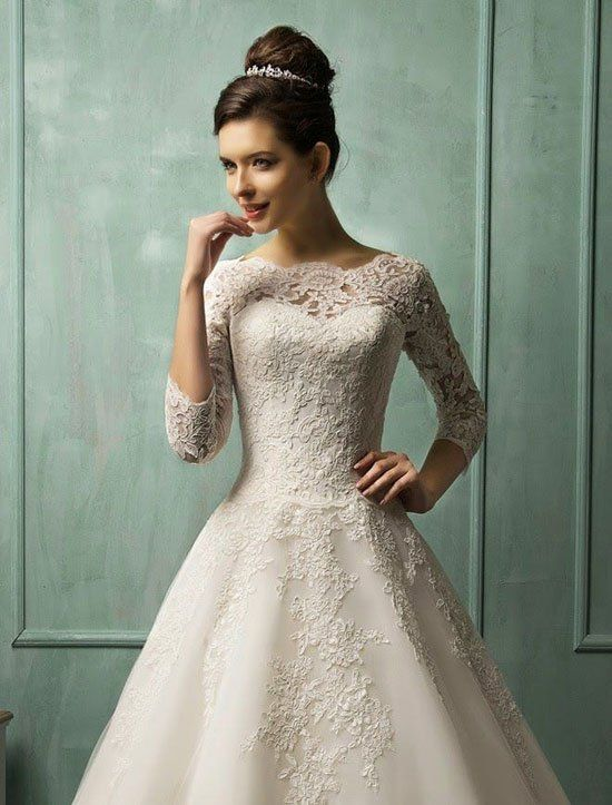 48+ Beautiful Modern Vintage Wedding Dresses