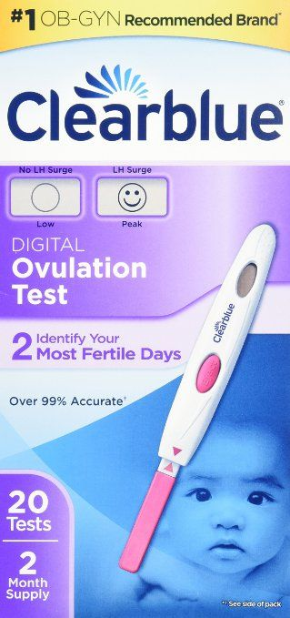 how to use clear blue digital ovulation test