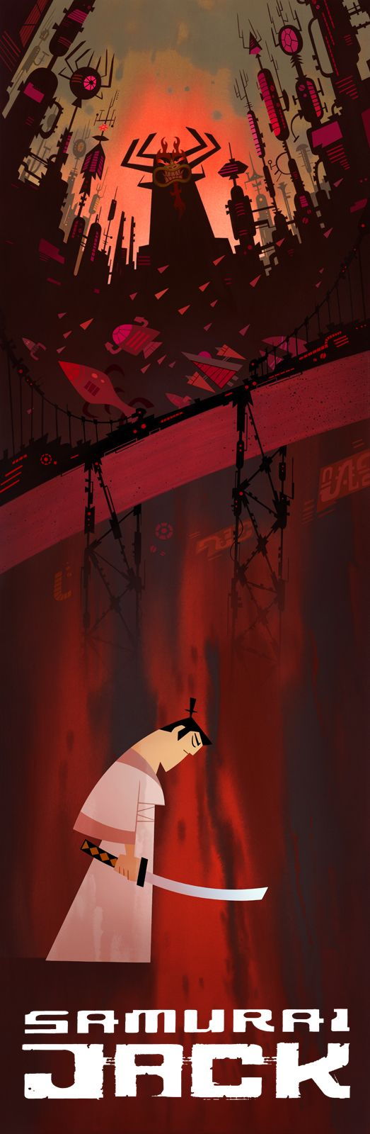 Samurai Jack - One of (if not the) best show Cartoon Network ever made!
