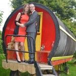 """""""The Phoenix Restaurant and Accommodation"""" Glamping is glamorous camping in our Romany wagons are perfect for a romantic night."""