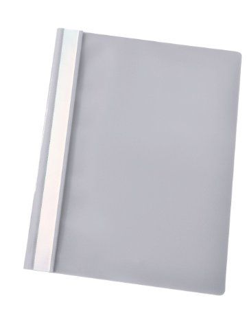 Esselte A4 Report Files - Grey, Pack of 25