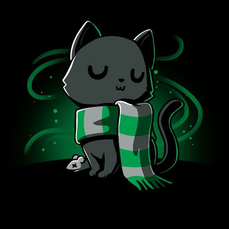 Slytherin cat