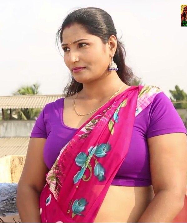 410 Best Indian Hot Aunty Images On Pinterest  Blouse -3244