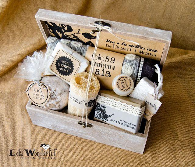 Pack spa personalizado: para una iaia (abuela)