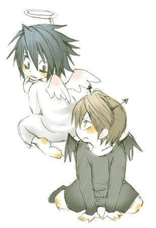 #DeathNote so cute and so true my artist friend. you cuteness shall be honored by me posting it thank you