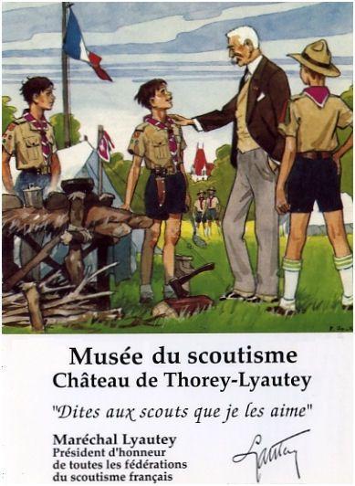 Le Musée du Scoutisme de Thorey-Lyautey - Réseau Baden Powell