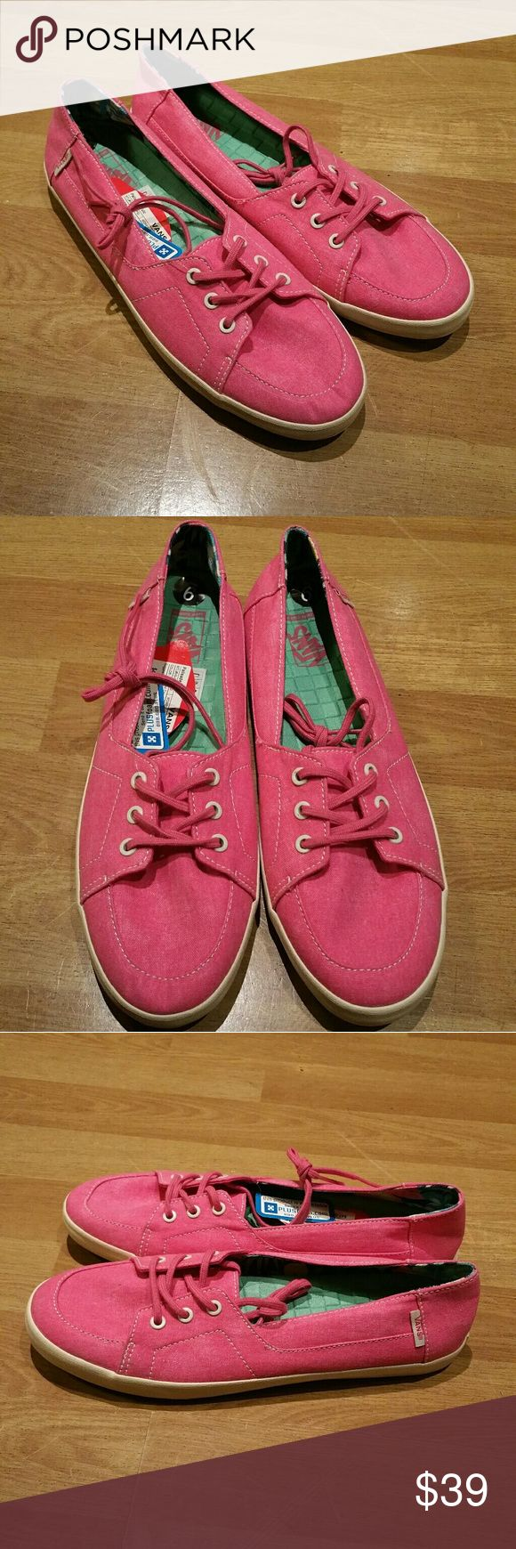 Womens Vans sneakers Brand new. Size 9. Never worn. Vans Shoes Sneakers