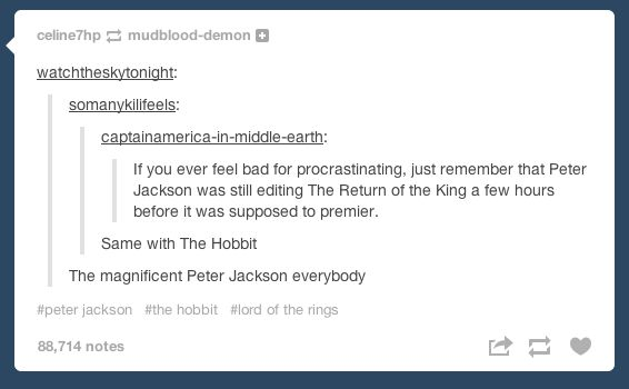 Remember Lord of The Rings director Peter Jackson: | 26 Things To Remember If You're Ever Feeling Down