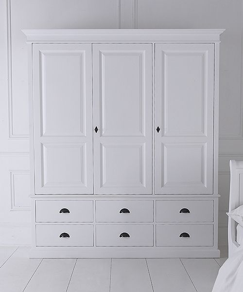 NEW Breton triple wardrobe with six drawers - introductory offer save £200