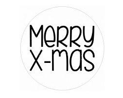 Merry X-mas #stickers - #Sluitzegel - Buy it at www.vanmariel.nl - 10 stuks  2