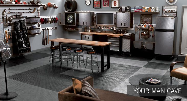 Garage or man cave? #dreamhome #PulteHomes #garage