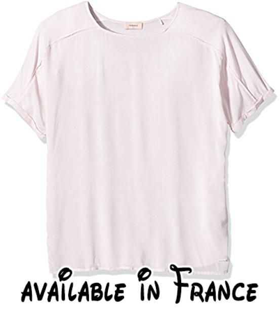 Triangle by s.Oliver - Blouse - coupe droite - Manches Courtes Femme -  Rose - 46.  #Apparel #SHIRT