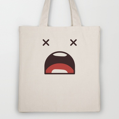 Fatal Error !!! Tote Bag by Playmoji ® - $18.00