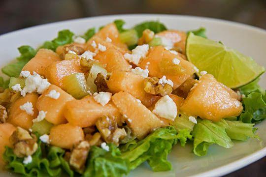 http://mjskitchen.com/2012/08/cantaloupe-walnut-salad/