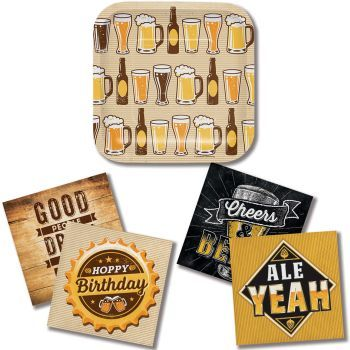 Cheers and Beers - Party at Lewis Elegant Party Supplies, Plastic Dinnerware, Paper Plates and Napkins