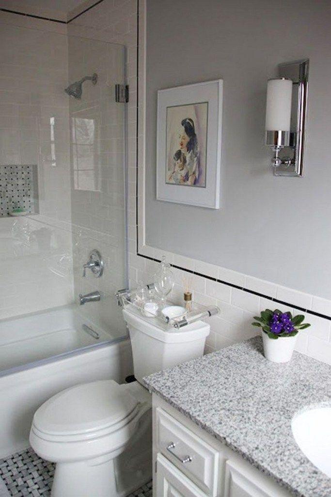 43 How To Make A Small Bathroom Look Bigger Tips And Ideas 15 Gentileforda Com Small Bathroom Remodel Bathrooms Remodel Small Bathroom