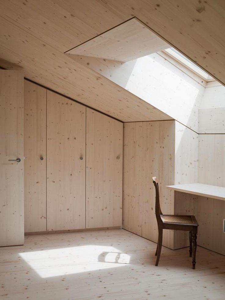 Hurst song architekten: lumbrein residence. White canvas.