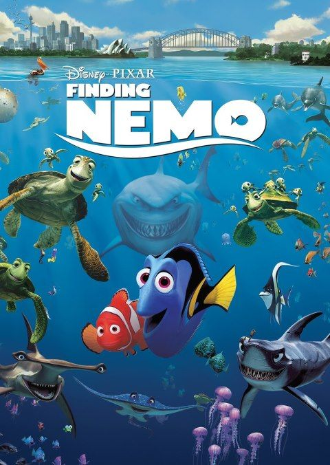 Finding Nemo (Disney 2003) - A father-son story about growing up, and letting your kid grow up.  Very clean, no sexual references.  The surfer turtle might be seen as a pothead but no direct reference was made.