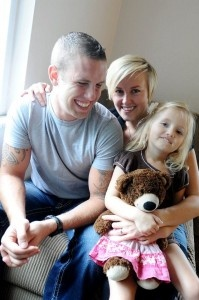 Drew Cummings is deployed for most of 2012 to Afghanistan. He and his wife's little girl Ella talked about the deployment before he left. http://tinyurl.com/7huckg8: Little Girls, Girls Generation, Ella Talk, Drew Cummings, Girls Ella