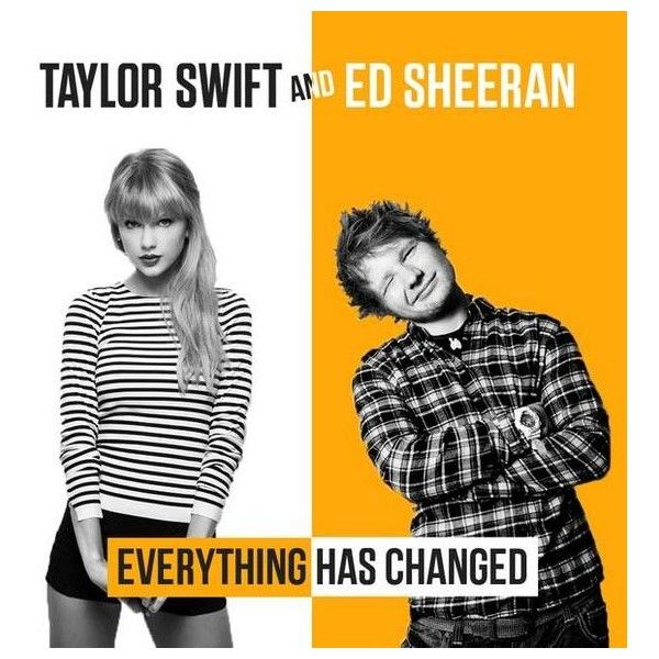 Everything Has Changed Lyrics Taylor Swift ❤ liked on Polyvore