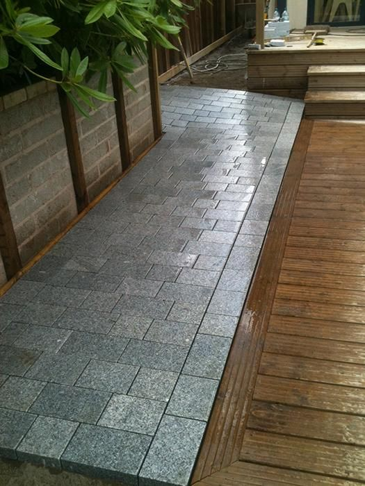 Sawn Granite Setts are perfect for high traffic areas due to their hard-wearing nature.