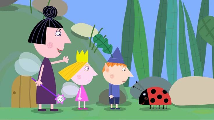 Ben and Holly's Little Kingdom - Gaston the Ladybird