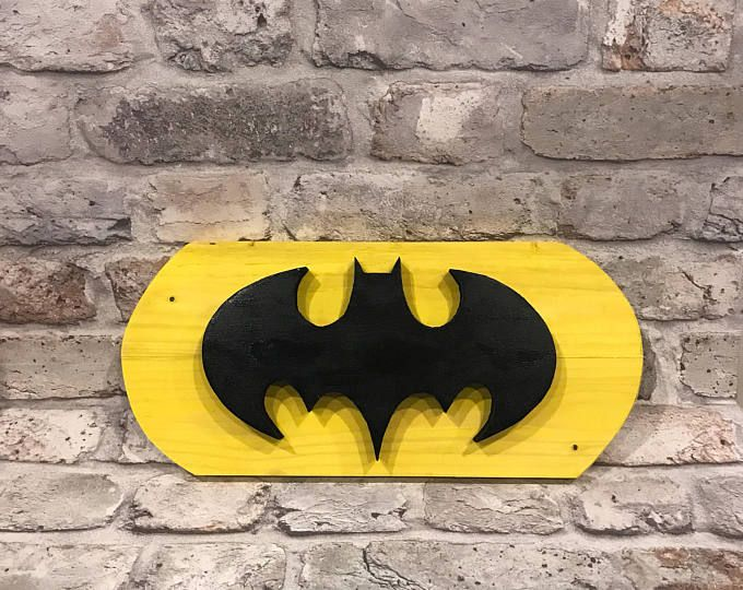Signo de Batman hecha a mano