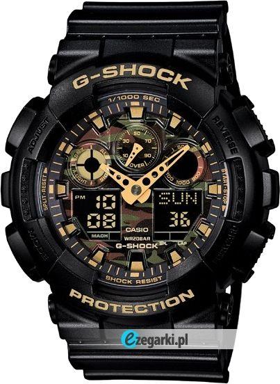 Zegarek z najnowszej kolekcji G-Shock The Camouflage Range.