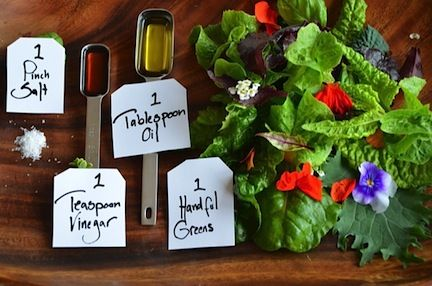 Dressing Fearlessly: 2 Simple Salad Dressings - The Family Dinner by Laurie David