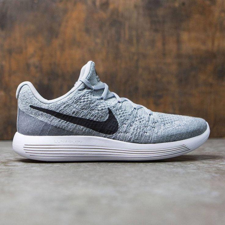 Nike Men Lunarepic Low Flyknit 2 Running (wolf grey / black-cool grey-
