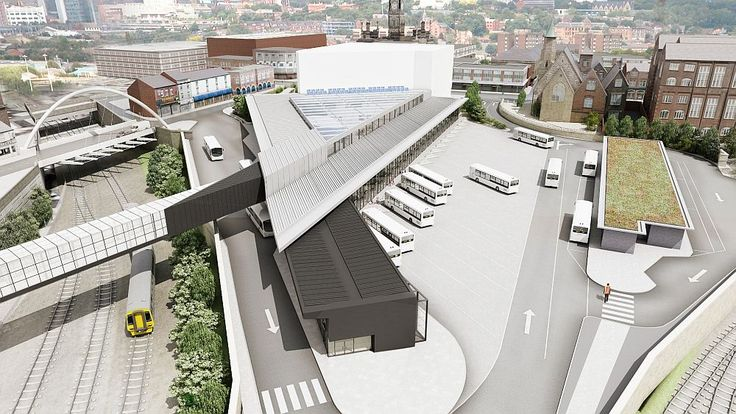 Bolton bus station design