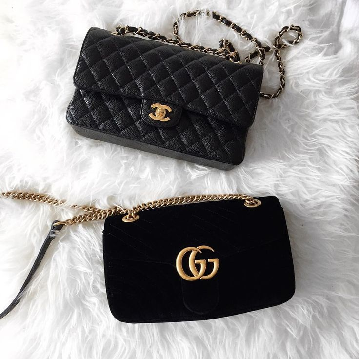 Gucci + Chanel Pinterest: @melaninradiance