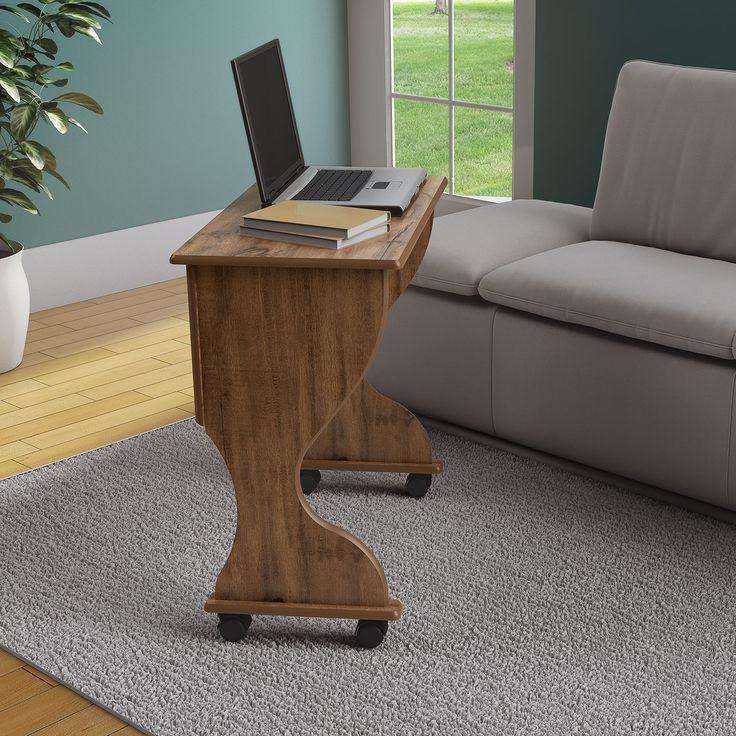 Mesa Dobrável para Computador C27 em MDF Nobre - Dalla Costa | Lojas KD