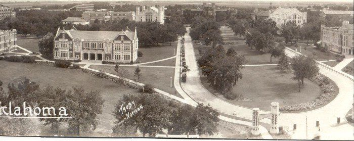 This Is What Oklahoma Looked Like 100 Years Ago It May Surprise You Iconic Landmarks Oklahoma History University Of Oklahoma