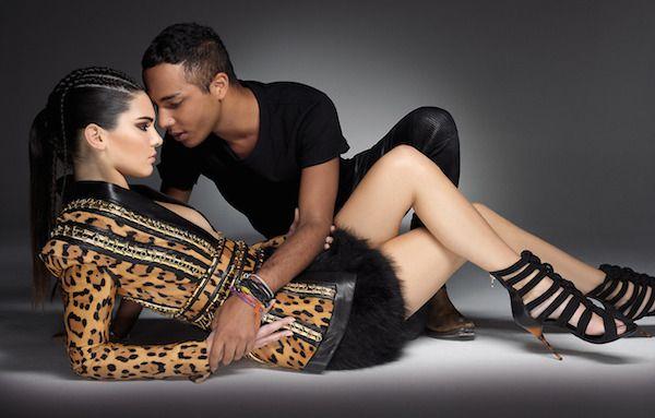 Kendall Jenner x Olivier Rousteing