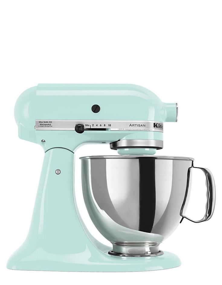 Lovely Artisan Stand Mixer Ice Blue By Kitchenaid My New Toy! So Excited!