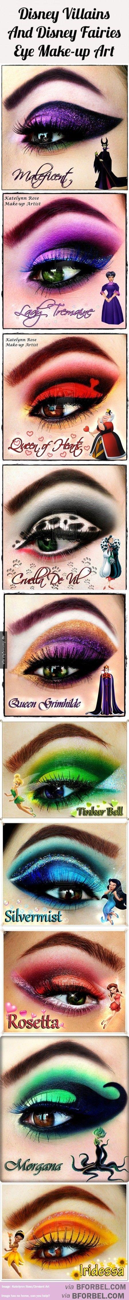 Was Cruella de Vil und Tinkerbell gemeinsam haben!(Beauty Nails Make Up)