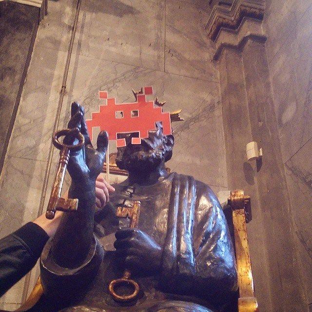 """Chiesa di San Pietro, Vho di Piadena (Cremona)  Un grazie anche a San Pietro che oggi ha accolto l'invasione a """"casa"""" sua, nella Chiesa Cattedra di San Pietro al Vho!  #invasionidigitalicr #idpiadena #invasionidigitali #sanpietro #piadena #vho #cremona #igerscremona #igerslombardia"""
