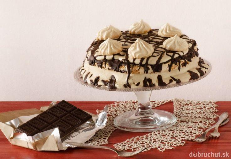 Torta zo snehu - Pavlova torta