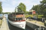 Cruise Savonlinna-Kuopio by M/S Puijo. Savonlinna, Finland.