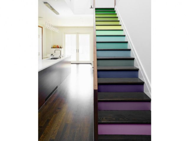 Relooker escalier stickers like a color