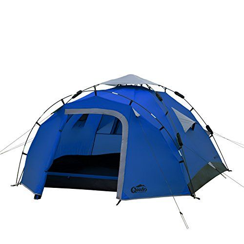 Qeedo Quick Pine 3 Seconds Tent 3 Man C&ing Tent (Quick Up System)-  sc 1 st  Pinterest & Best 25+ 3 man tent ideas on Pinterest | Camping products Amazon ...