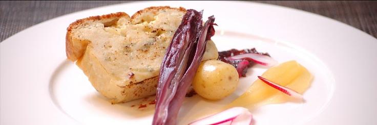 Vanilla black - unusual vegetarian food on Chancery Lane