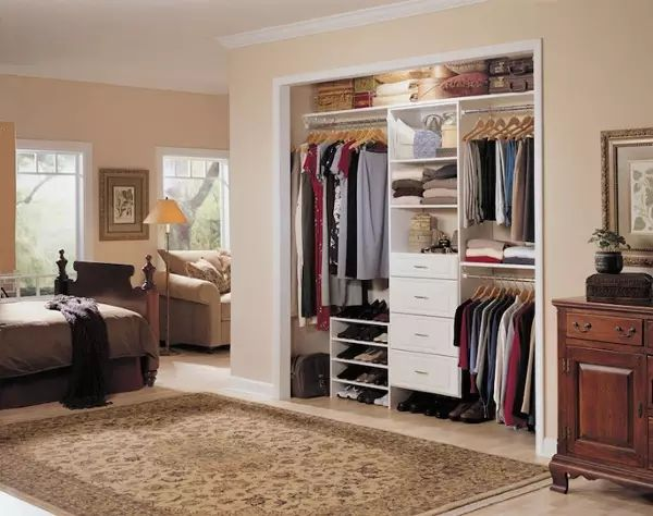 modern wall wardrobe almirah designs - Wall Closet Designs