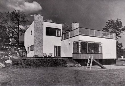 Alva and Jan Myrdal's house in Stora Mossen