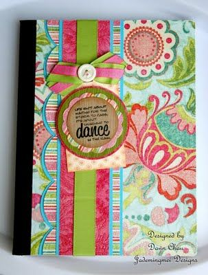 Composition Notebook... What a cure idea!!