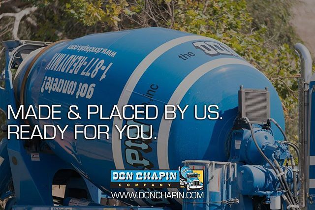 We offer very competitive pricing, excellent service, and our team looks forward to working with every client to fill their need for ready mixed concrete. Call 831-630-0443 today for a bid! . . . #donchapin #construction #readymix #paving #concrete #aggregates #salinsca #montereycounty #santacruz #familyownedbusiness #montereybaylocals - posted by Don Chapin https://www.instagram.com/donchapincompany - See more of Monterey County at http://montereybaylocals.com
