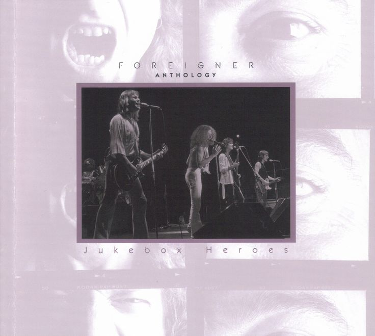 Foreigner - Jukebox Heroes (The Foreigner Anthology) Front Cover