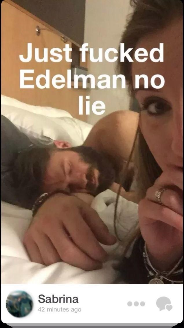 Girl Brags About Sleeping With Julian Edelman on Tinder  -- Thots out of control